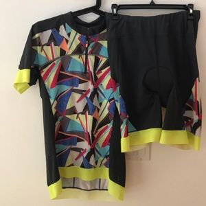 Sweaty Betty Spin/Cycle Jersey and Shorts